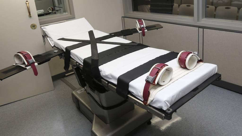 Erste Hinrichtung auf Bundesebene in USA seit 17 Jahren ausgesetzt