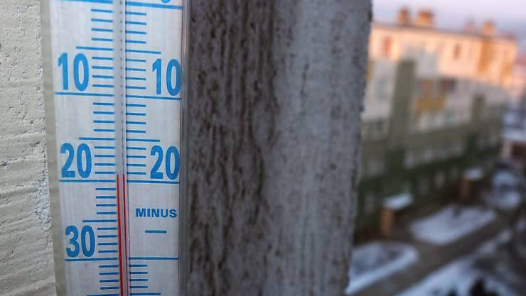 In Polen fielen die Temperaturen auch schon auf minus 20, wie im Bild vor vier Jahren in Przemysl