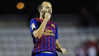 Europas Bester: Auszeichnung für Barcelonas Mittelfeldstrategen Andres Iniesta