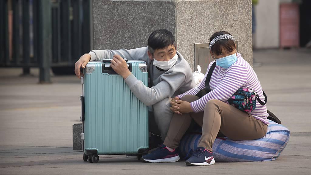 Zahl importierter Coronavirus-Erkrankungen in China steigt weiter