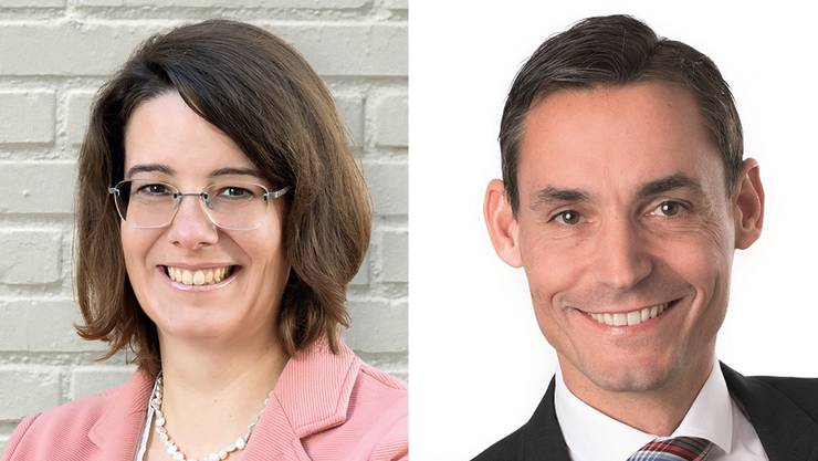 Die FDP schickt Jeanine Glarner und Gérald Strub ins Rennen um den freien Regierungsratssitz.