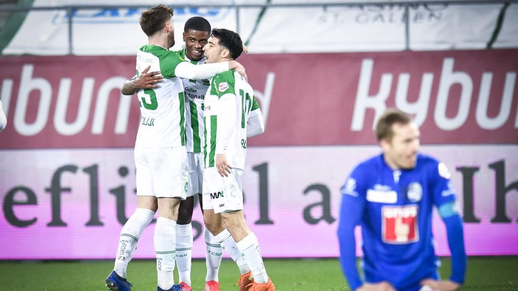 Der FC St.Gallen gewinnt doch noch was