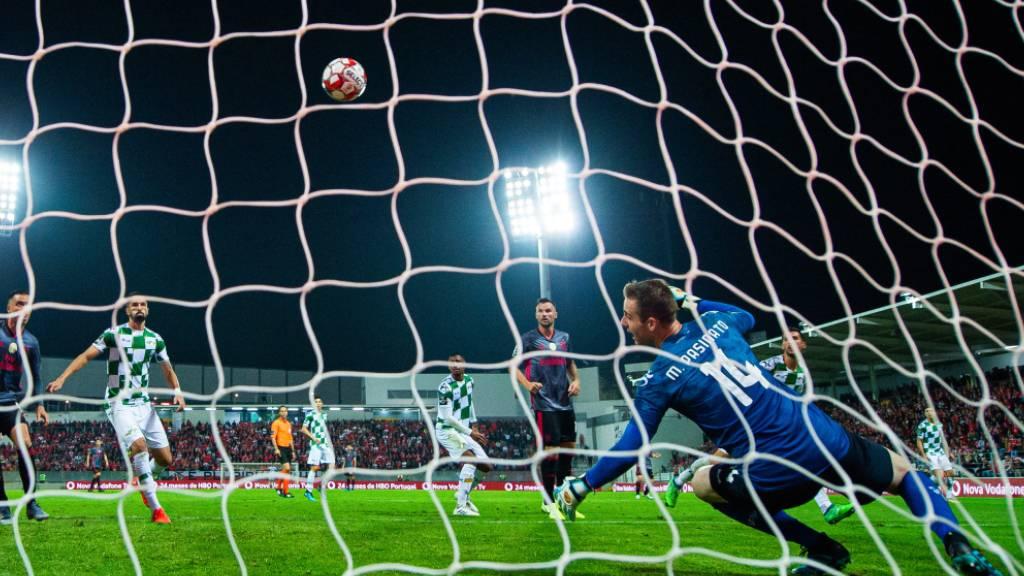Seferovic schiesst Benfica an die Tabellenspitze