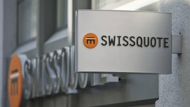 Logo der Online-Bank Swissquote (Archiv)
