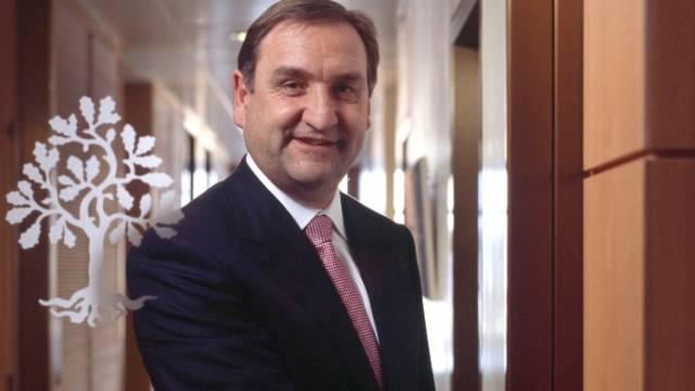 Joachim Strähle ist seit gut vier Jahren Konzernchef im Haus Sarasin. Foto: Gaetan Bally
