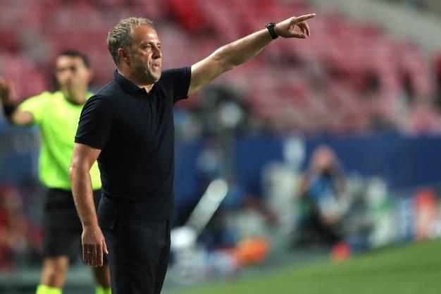 Hat eine unfassbare Erfolgsquote: Bayern-Trainer Hansi Flick.