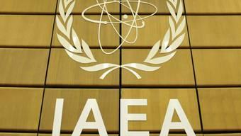 Logo der internationalen Atomenergiebehörde (Symbolbild)