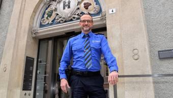 Die Regionalpolizei hat ihren Sitz im Kornhaus. Den Umbau und Umzug konnte Andreas Lüscher damals eng begleiten.