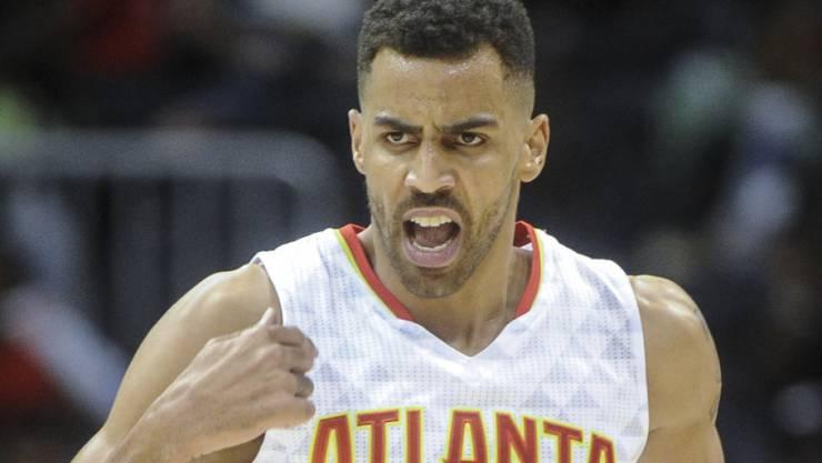 Mit den Atlanta Hawks auf einer Erfolgswelle: Thabo Sefolosha
