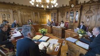 Die Protokolle der Bundesratssitzungen soll der Bundesrat den GPK weiterhin vorenthalten können (Archiv)