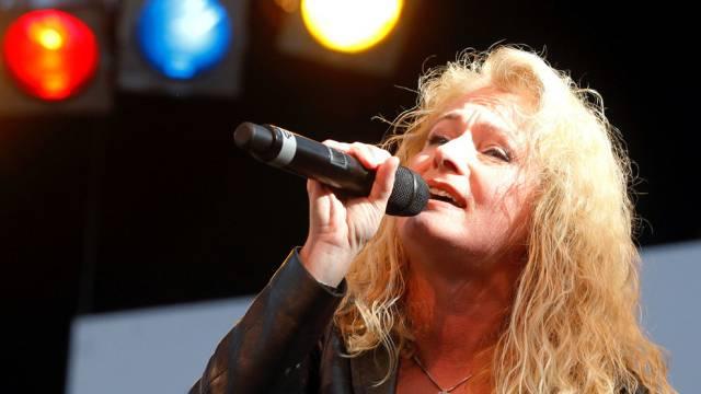 Die deutsche Schlagersängerin Nicole singt vom Frieden (Archiv)