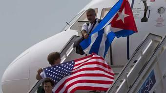 US-Präsident Donald Trump will gewisse Reisen von US-Bürgern nach Kuba wieder erschweren und die Annäherungspolitik der beiden Länder generell auf den Prüfstand stellen. (Archivbild)