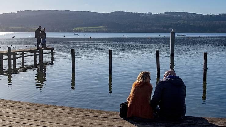 Der Januar 2020 bescherte der Schweiz viele Sonnenstunden, so wie hier am Greifensee im Kanton Zürich. (Archivbild)