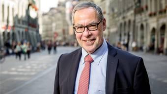 Der abtretende Stadtpräsident Alexander Tschäppät in seiner  Bundesstadt Bern. Die aktuelle Sexismus-Debatte, dieser prall gefüllte Kelch, ging auch an ihm nicht spurlos vorbei.