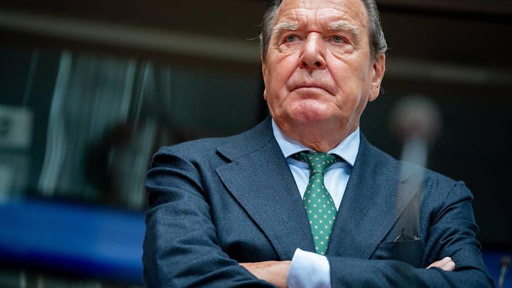 Politiker von CDU und Grünen für Schröder-Rückzug bei Nord Stream 2