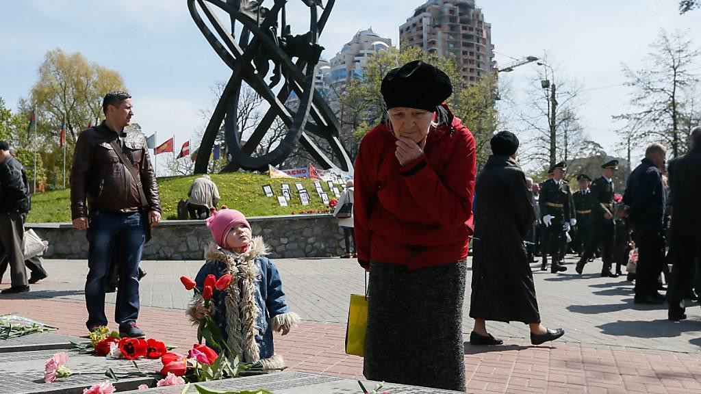 Ukraine erinnert an Katastrophe von Tschernobyl