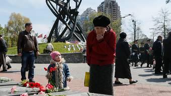 Gedenken an die Opfer von Tschernobyl.
