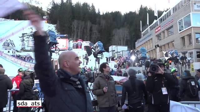 """Alain Berset zu Beat Feuz: """"Er hat ein super Rennen gemacht."""""""