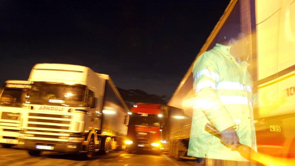 Gestrandete LKW-Fahrer auf Ostschweizer Raststätten bekocht