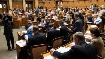 Rekordverdächtig: In der laufenden Legislatur wurden bislang nicht weniger als 5724 Vorstösse eingereicht.peter schneider/keystone