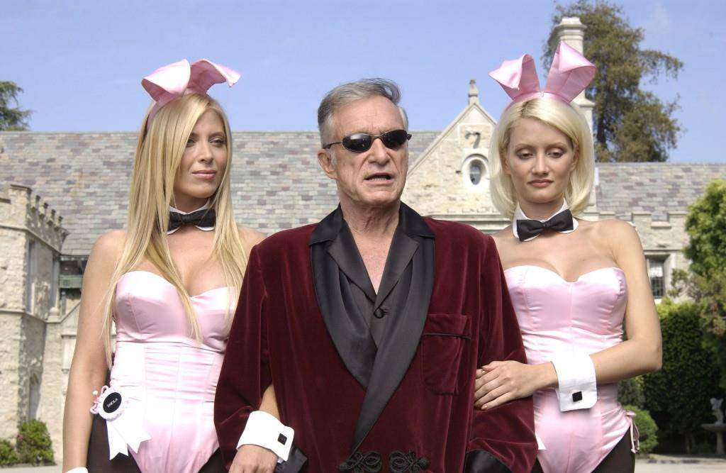 Die Playboy-Mansion in Kalifornien ist zum Kultobjekt geworden. (© Getty Images)