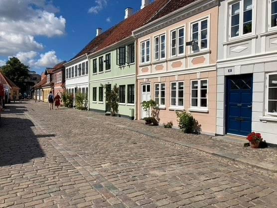 Die Stadt Odense lädt zum Flanieren und Verweilen ein.