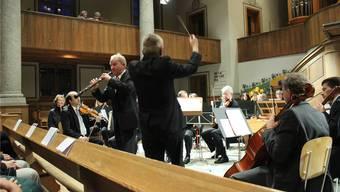 Oboist Kurt Meier, ein Meister seines Instruments, entlockte diesem reine Klänge und berührte das Publikum.