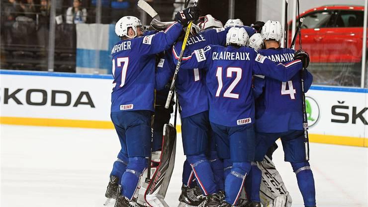 Frankreichs hat Finnland überraschend geschlagen.