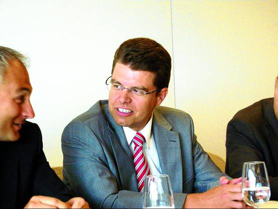 Andreas Rickenbacher: Er hatte sich die Kandidatur gut überlegt.