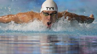 Jérémy Desplanches zog über 200 m Lagen als Halbfinal-Dritter in den EM-Final vom Montagabend ein