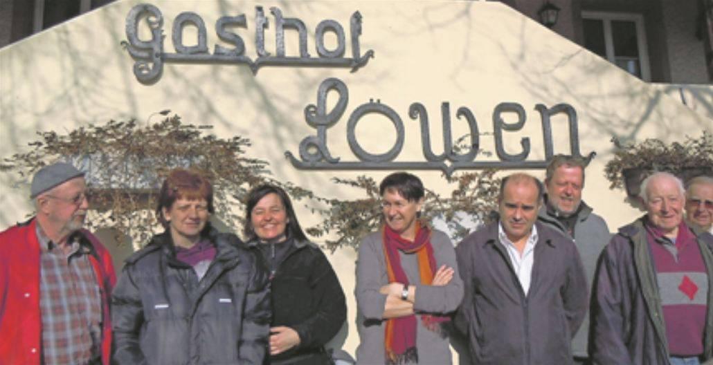 Interview mit Jumni Selmani zu Gasthof Löwen in Scherz
