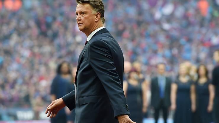 Unfreiwilliger Abgang: Louis van Gaal muss Manchester United nach zwei Saisons verlassen