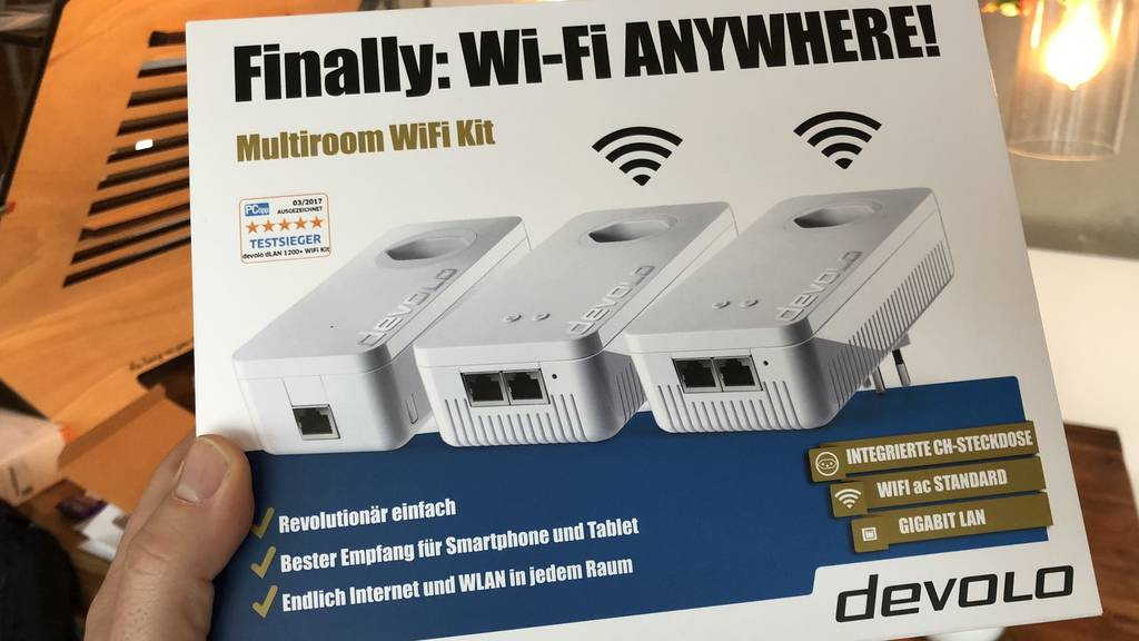 Digital: Devolo WiFi-Kit
