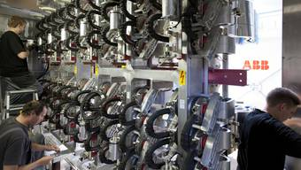ABB liegt im Bereich Industrieautomation hinter Siemens zurück. Mit der Übernahme von Bernecker + Rainer will der Konzern den Rückstand verringern. (Archiv)