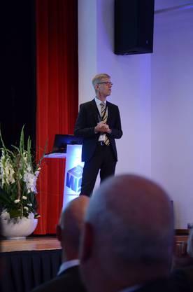 Andreas Geistlich, Gastgeber am Tag der Wirtschaft