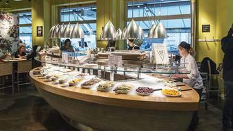 Die Vegi-Kette Tibits eröffnet eine Filiale in Lausanne. Die Verantwortlichen wissen, wie man in der Westschweiz erfolgreich Geschäfte macht. Im Bild: Tibits in Zürich.