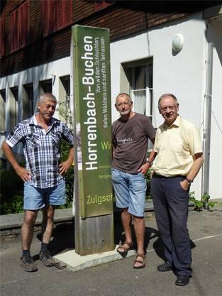 Andreas Fahrni, Urs Wandfluh undJ oachim Hermann.