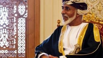 Omans Sultan Kabus bin Said