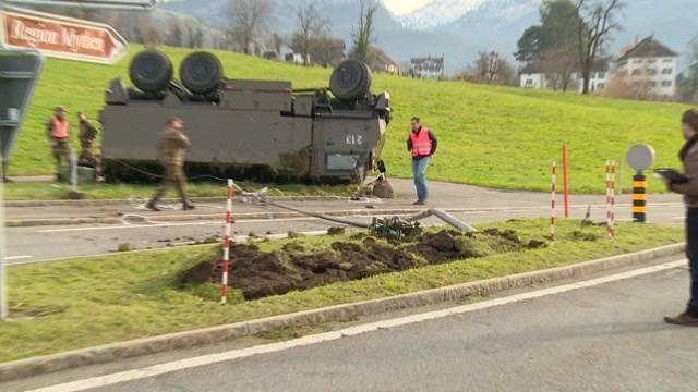 Schon wieder ein Unfall in der Schweizer Armee
