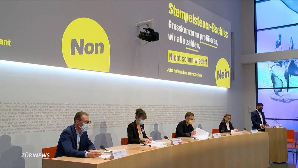 SP ergreift Referendum gegen Stempelsteuer-Abschaffung