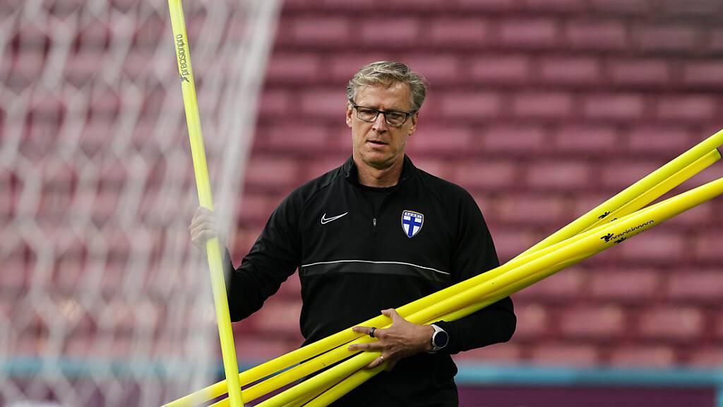 Finnlands Trainer Markku Kanerva glaubt an den Coup und freut sich, Belgien herauszufordern
