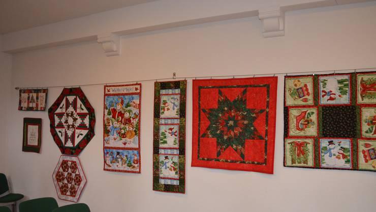 Weihnächtliche Quilts