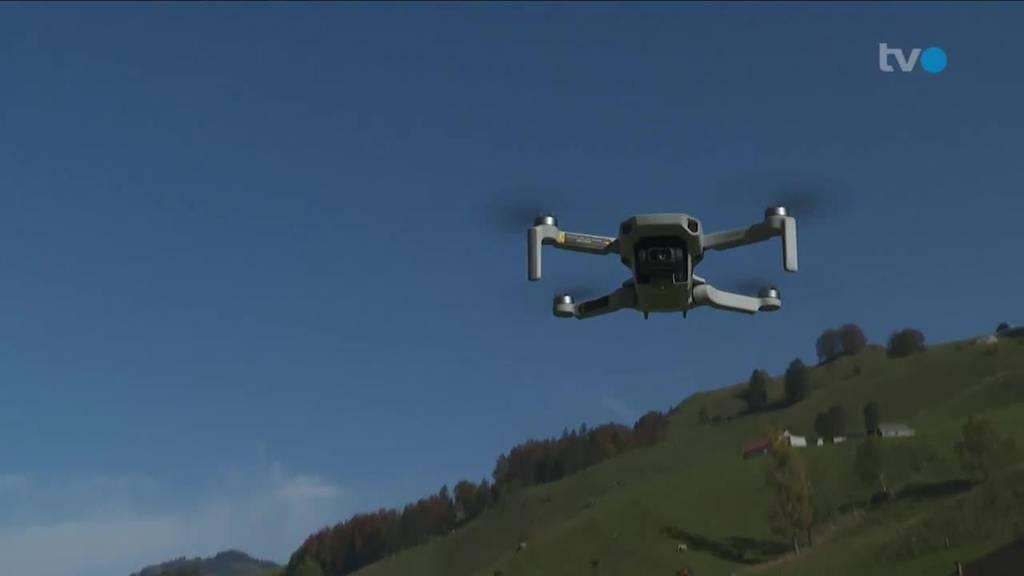 Drohnenverbot: Grosser Rat AI stimmt Verordnung zu