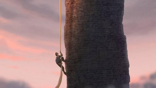 """Die Lichtsimulation stammt aus dem Zürcher Labor: Szene aus dem """"Rapunzel""""-Film"""