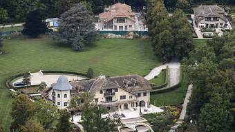 """Michael Schumachers Anwesen """"La Réserve"""" in Gland VD. Wie es ihm geht, weiss man nicht. Aber seit Sonntag können sich Fans auf seiner offiziellen Facebook-Seite austauschen. (Archivbild)"""