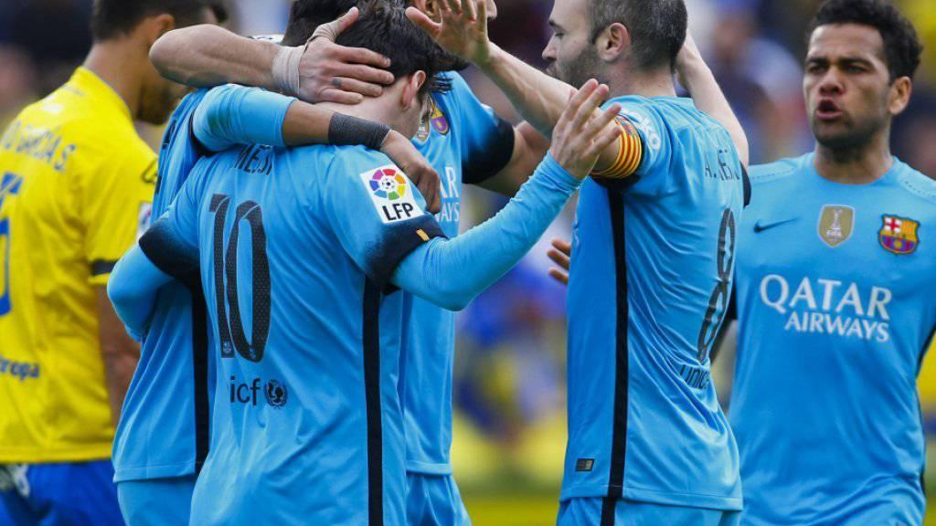 Barcelona ist weiterhin im Siegesrausch