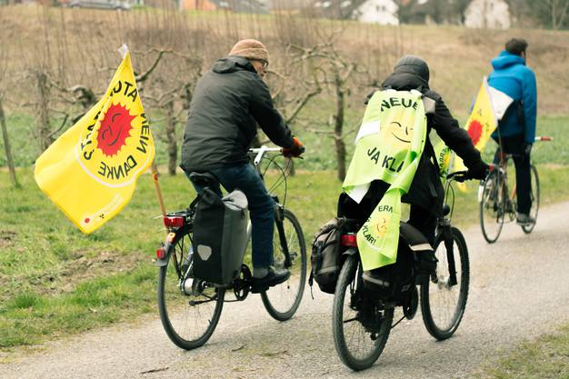 Atomkraftgegner demonstrieren gegen AKW Beznau