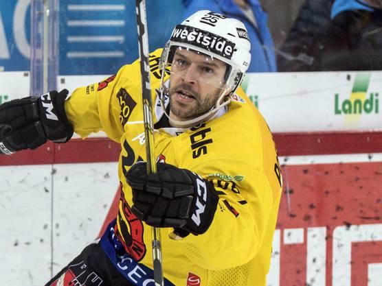 Andrew Ebbett, der Berner Schlüsselspieler.