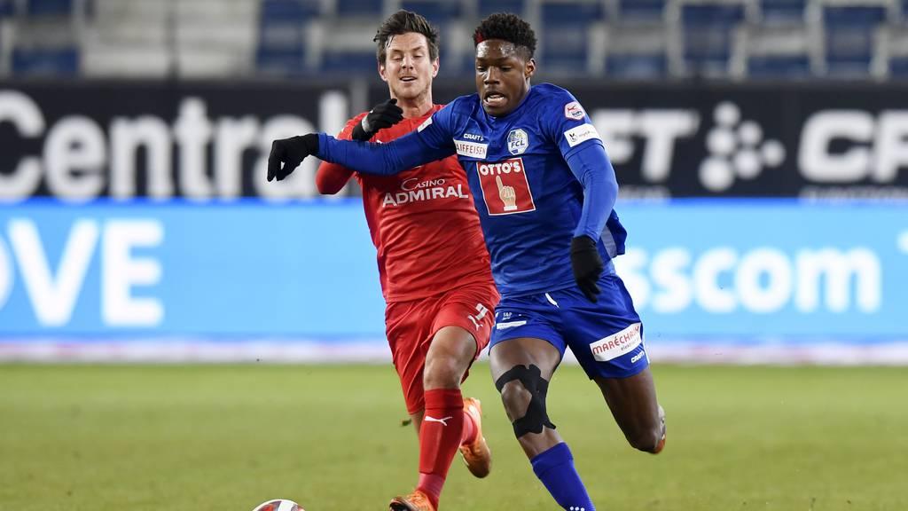 Noch immer sieglos: Luzern und Vaduz trennen sich 1:1