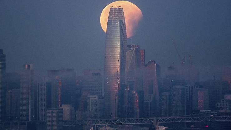 Der Salesforce Tower in San Francisco. (Archivbild)